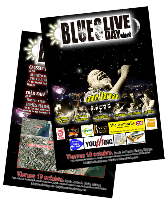 Flyer Blues Live Day
